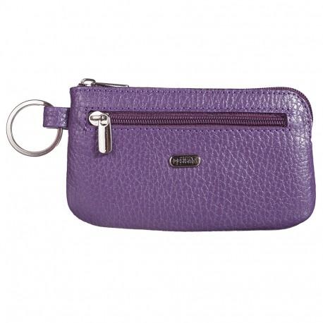 Ключница кожа Desisan 206-413 фиолетовый