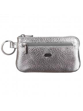 Ключница кожа Desisan 206-669 серебро