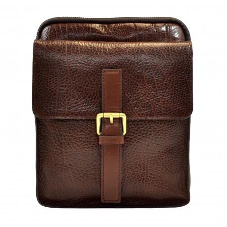 Барсетка мягкая Tony Bellucci 5066-886 коричневый флотар