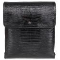 Барсетка мягкая кожаная Desisan 3026-143 черный лазер