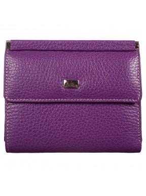 Кошелек женский кожаный Desisan 105-413 фиолетовый флотар