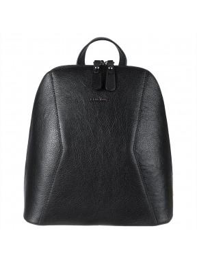 Рюкзак кожаный KARYA 2201-45 черный флотар