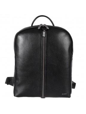 Рюкзак кожаный KARYA 6004-45 черный флотар