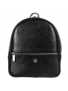 Рюкзак кожаный KARYA 6005-45 черный флотар