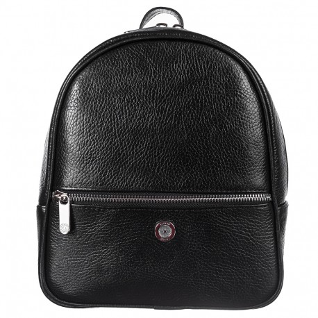 Рюкзак кожа KARYA 6005-45 черный флотар