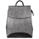 Рюкзак кожа Desisan 3023-669 серебро флотар