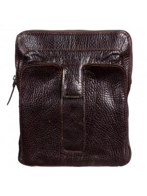Барсетка мягкая Tony Bellucci 5058-886 коричневый флотар