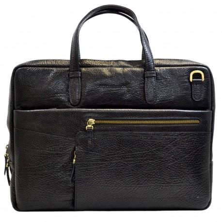 Портфель кожа Tony Bellucci 5160-893 черный флотар