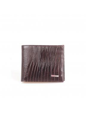 Портмоне кожаное GRASS 324-33 коричневый лазер