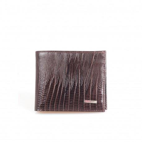 Портмоне кожа GRASS 324-33 коричневый лазер