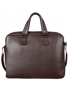 Портфель мягкий кожаный BOND 1115-286 коричневый
