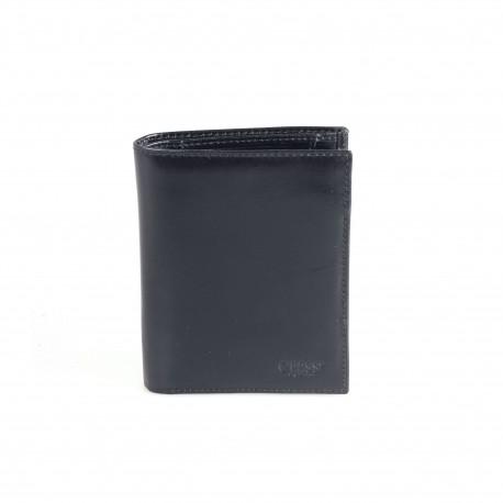 Портмоне кожа GRASS 336-1 черный гладкий