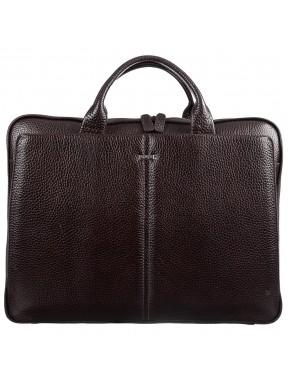Портфель кожа Desisan 910-09 коричневый гладкий