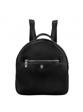 Рюкзак кожаный KARYA 0827-45 черный флотар