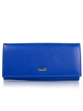 Кошелек женcкий кожаный CANPEL 2037-304 ярко-синий