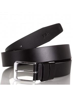 Ремень кожаный  Y.S.K. джинсы 4см 4-2007-1 черный