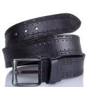 Ремень кожаный Y.S.K. джинсовый 5 см 933 -1 черн