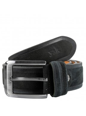Ремень замшевый Y.S.K 4018-1 черный
