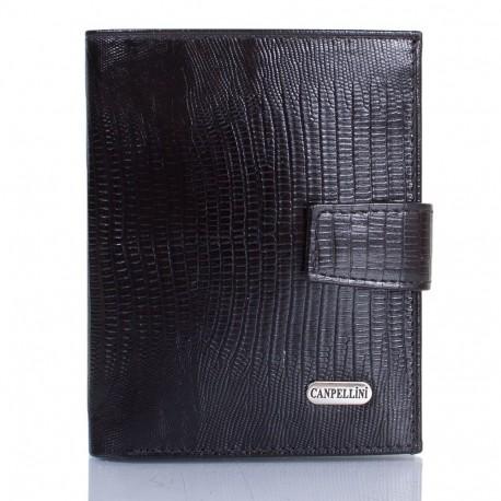 Портмоне кожа CANPEL 1102-8 черный лазер