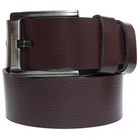 Ремень кожаный  Y.S.K. джинсы 5 см 2090 -2 коричн