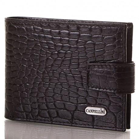 Портмоне кожа CANPEL 1408-2 черный кроко