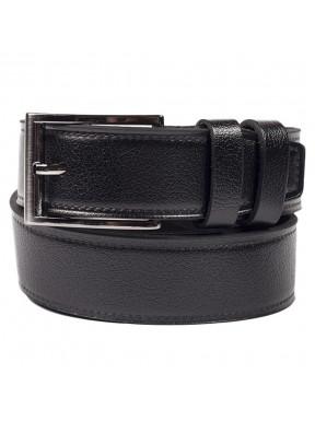 Ремень кожаный  Y.S.K. джинсы 4см 4-2028-1 черный
