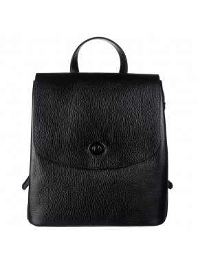 Рюкзак кожа Desisan 814-011 черный флотар