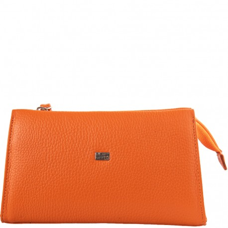 Косметичка кожа Desisan 2-374 оранжевой флотар
