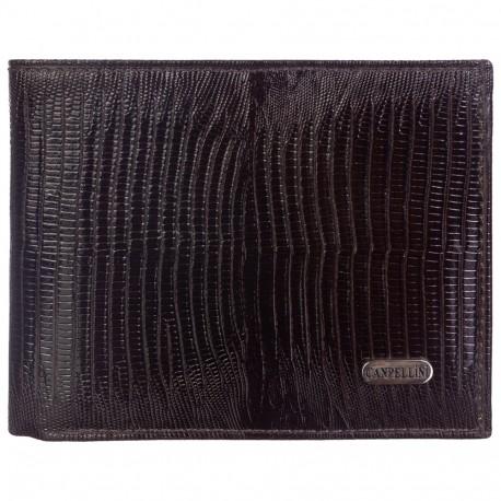 Портмоне кожа CANPEL 504-143 коричневый лазер