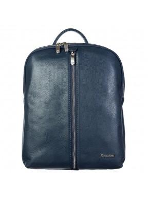 Рюкзак кожа KARYA 6004-44 синий флотар
