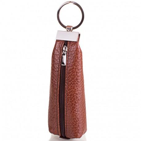 Ключница кожа Desisan 200-015 рыжий флотар