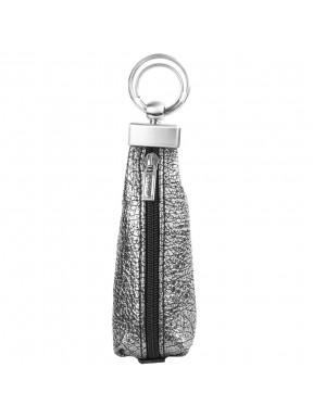 Ключница кожа Desisan 200-669 серебро