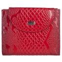 Кошелек женский кожаный Desisan 755-500 красный узор