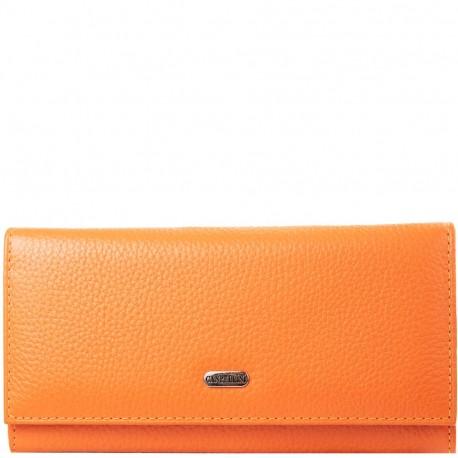 Кошелек женcкий кожа CANPEL 2035-302 оранжевый флотар