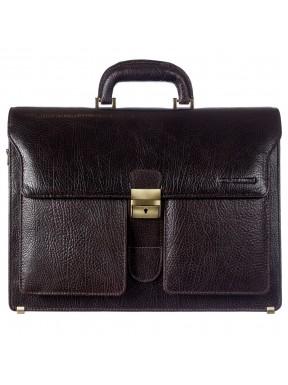 Портфель кожа Tony Bellucci 5115-886 коричневый флотар