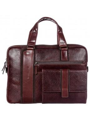 Портфель кожа Tony Bellucci 5191-896 рыжий флотар