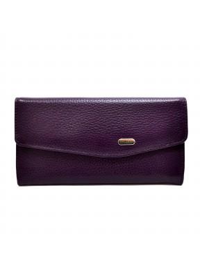 Женское портмоне из натуральной кожи CANPEL 2029-95 фиолетовый флотар