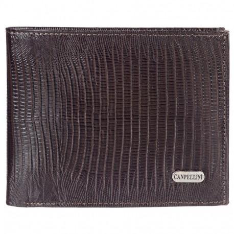 Портмоне кожа CANPEL 1043-143 коричневый лазер