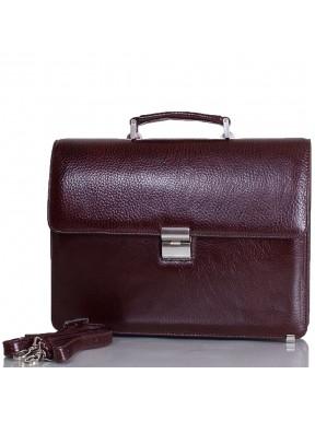 Портфель кожа Desisan 2005-019 коричневый флотар