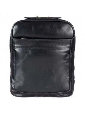 Барсетка мягкая Tony Bellucci 5152-101 черный гладкий