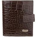 Портмоне кожаное CANPEL 1109-11 коричневый кроко
