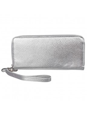 Кошелек женcкий кожаный CANPEL 706-353 серебро