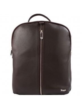 Рюкзак кожа KARYA 6004-39 коричневый флотар