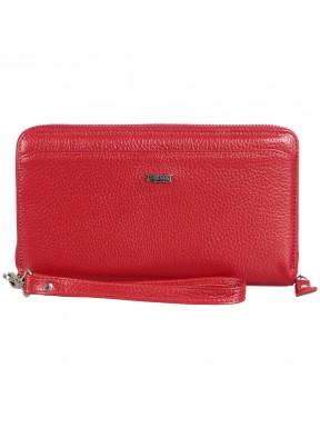 Кошелек женский кожаный Desisan 951-4 красный флотар