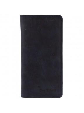 Портмоне кожа Tony Bellucci 355-03 синий нубук