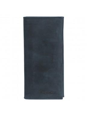 Портмоне кожаное Tony Bellucci 578-03 синий нубук
