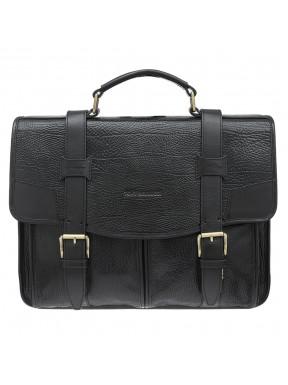Портфель кожаный Tony Bellucci 5123-893 черный флотар