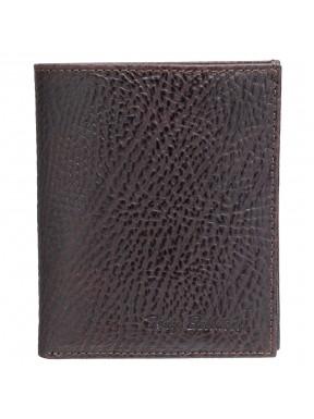 Портмоне кожа Tony Bellucci 136-886 коричневый флотар