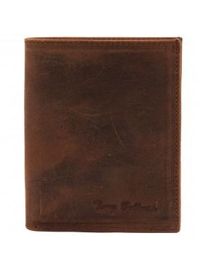 Портмоне кожа Tony Bellucci 136-07 рыжий нубук