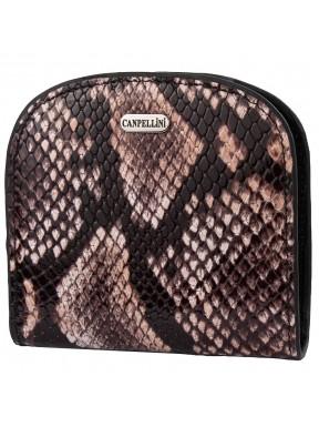 Кошелек женcкий кожа CANPEL 715-129 серая змея